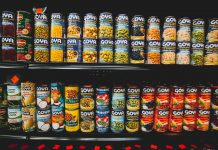 canned foods vs frozen foods